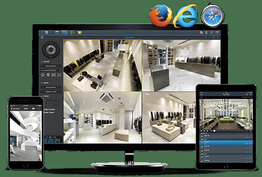 Application videosurveillance bruxelles installation caméra Secure inside