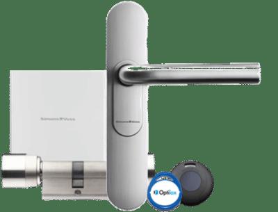 installation Contrôle d'accès sans-fil serrure électronique Secure inside
