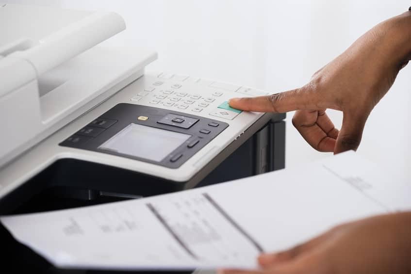 Imprimante professionnelle bureau Secure inside