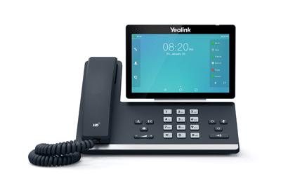 yealink VoIP installation de téléphone IP Secure inside